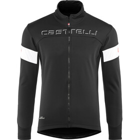 Castelli Transition Jas Heren, black/white